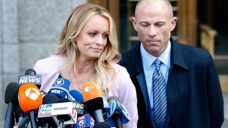 Daniels' lawsuit against Trump lawyer is on hold