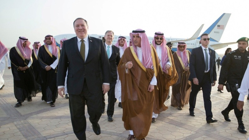 Pompeo in Middle East to shore up Iran stance