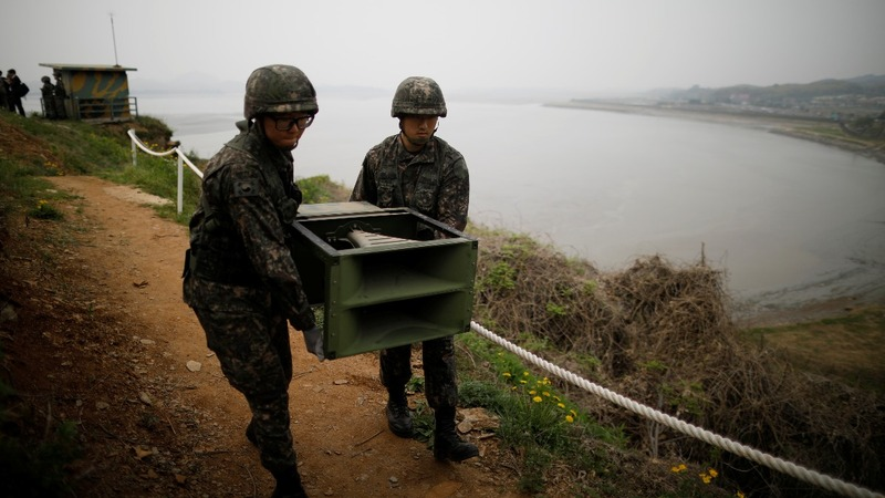 Koreas dismantle DMZ propaganda speakers, again