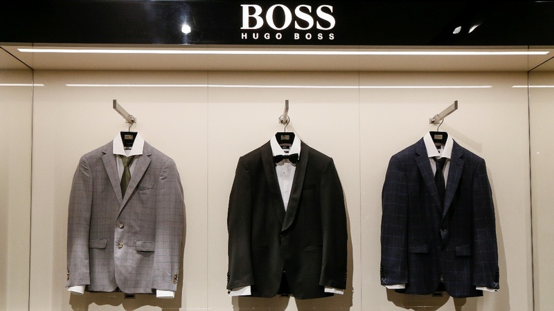 Boss sales rebound in China, but sag at home