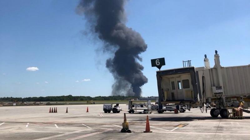 U.S. military plane crashes in training exercise