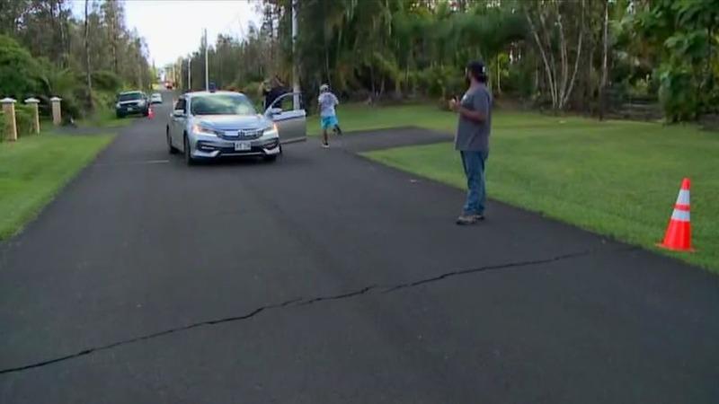Hawaii residents evacuated as volcano erupts