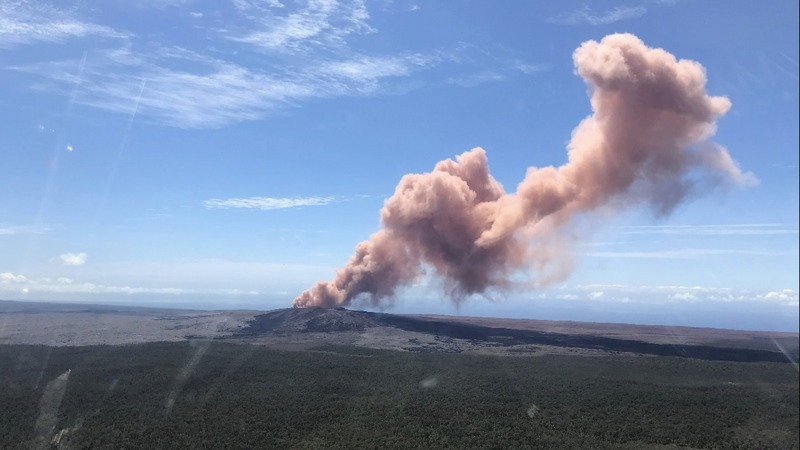 Hawaii residents evacuated as volcano erupts