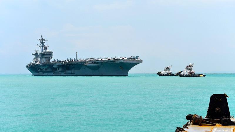 U.S. Navy reforms 'Second Fleet,' eyeing Russia