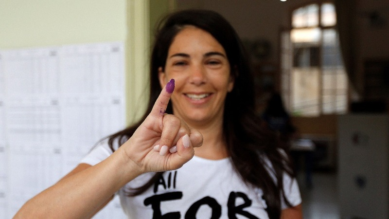 Lebanon holds its first election in nine years
