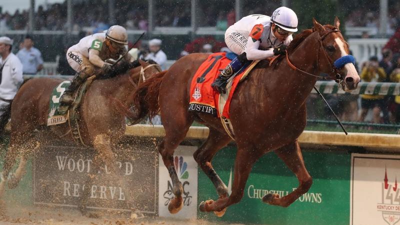 Justify wins Kentucky Derby, breaks 'curse'