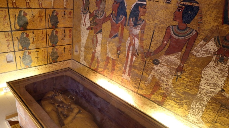 No hidden room in King Tut's tomb: researchers
