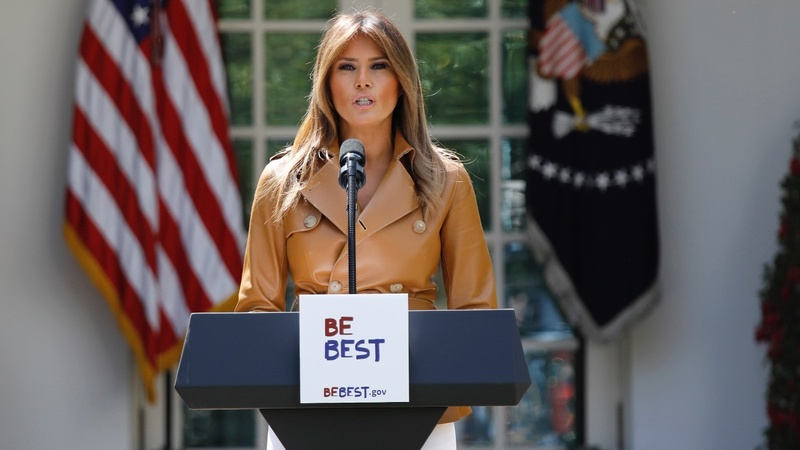 Melania Trump initiative targets cyber-bullying