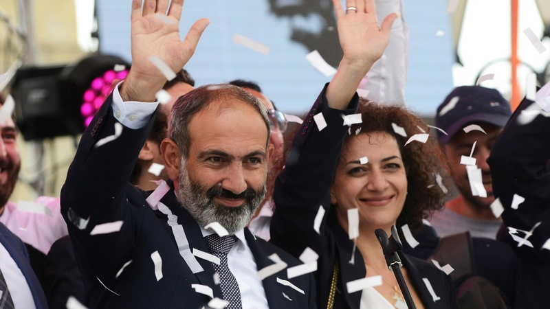 Peaceful revolution heralds change in Armenia