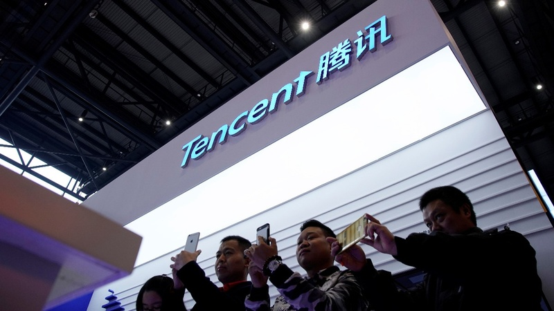 China's Tencent plans culture deal with UK