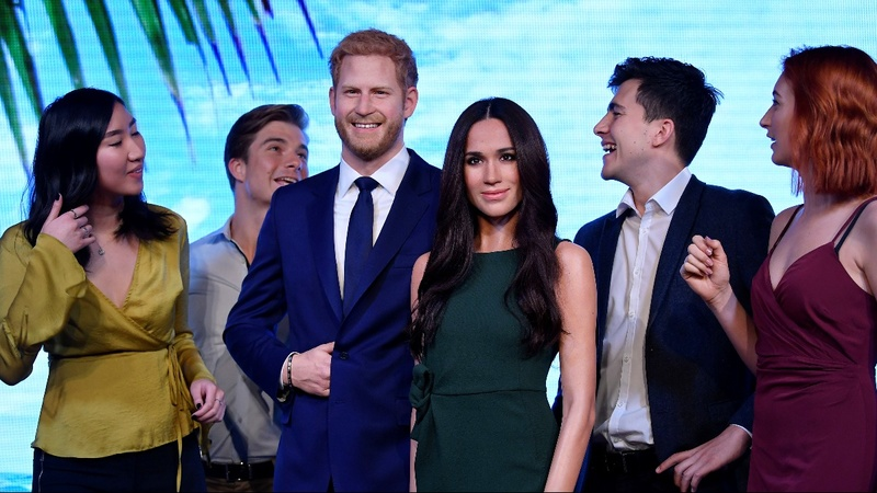 INSIGHT: Meet Harry and Meghan at Madame Tussauds