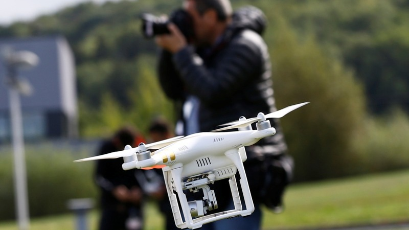 Flight path for U.S. drones without Amazon, DJI