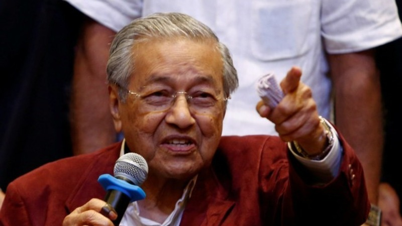 Mahathir scores shock election win in Malaysia