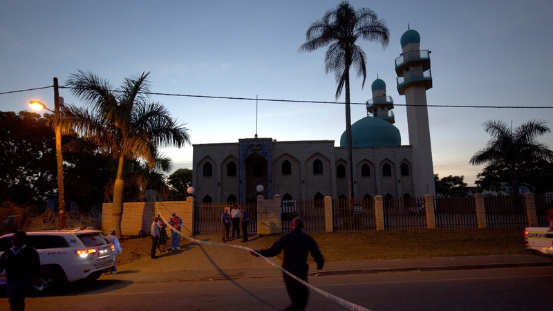Attackers slit throats at S. African mosque
