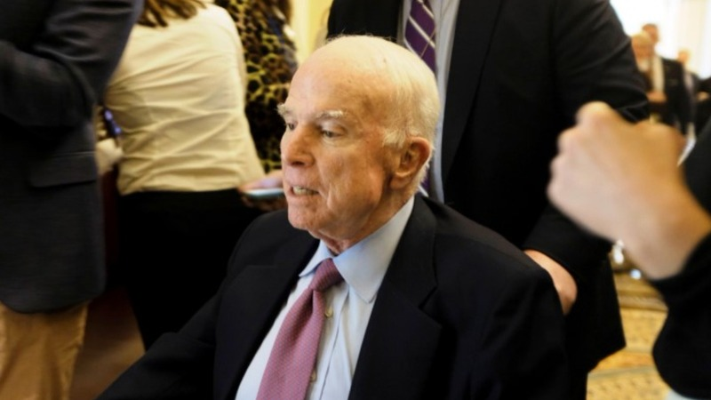 White House official mocked 'dying' McCain: media