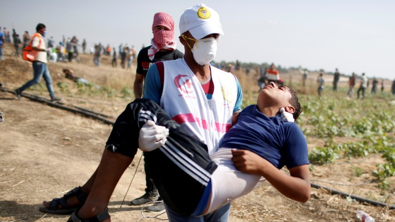 Palestinians protest as Nakba Day draws near
