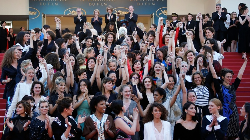VERBATIM: Women take over Cannes red carpet