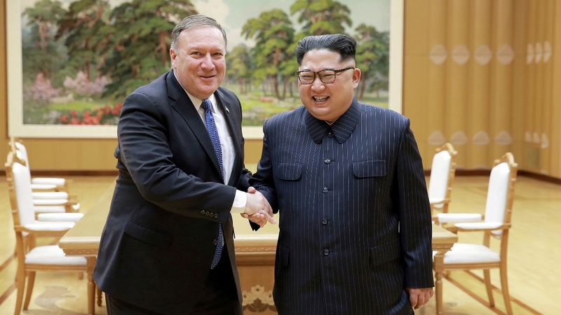 Pompeo teases North Korea sanctions relief