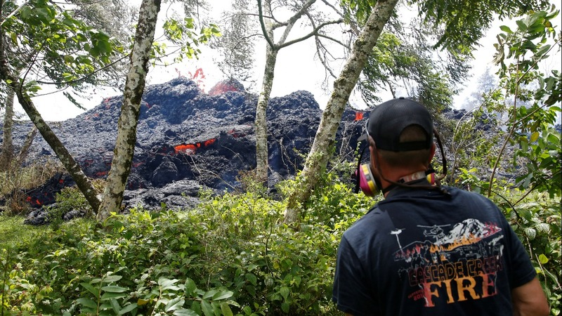 Hawaiian volcano threatens another major eruption