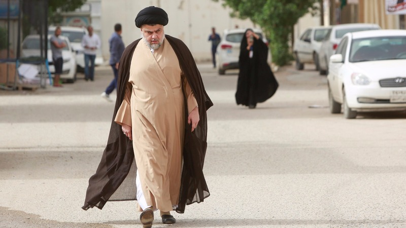 Firebrand cleric leads in Iraqi election