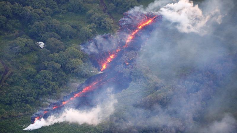 New fissures open on Hawaii's Kilauea volcano