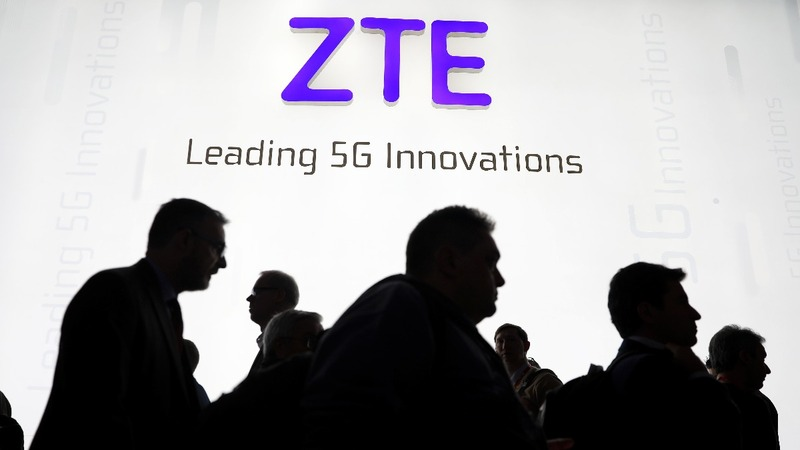 Trump says he'll help 'save jobs' at China's ZTE