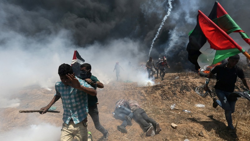 52 killed in Gaza protest as U.S. moves embassy to Jerusalem