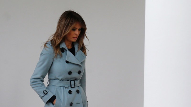 Melania Trump hospitalized for kidney condition
