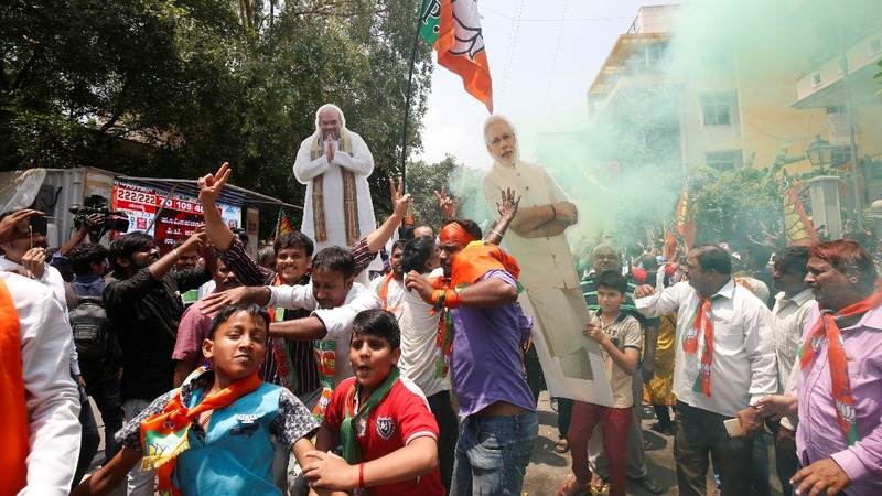 India's Modi on track for win in key state vote