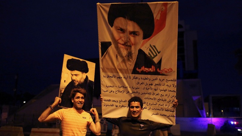 Moqtada al Sadr set to win Iraq's election