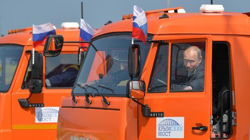 New 'Putin's bridge' links Russia with Crimea