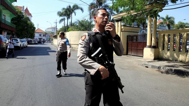 Indonesian police kill four in militant attack