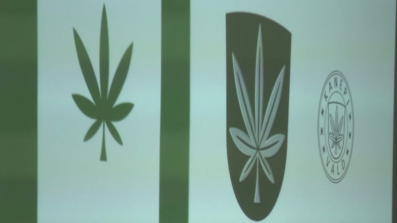 Online poll authorizes cannabis flag in Estonia