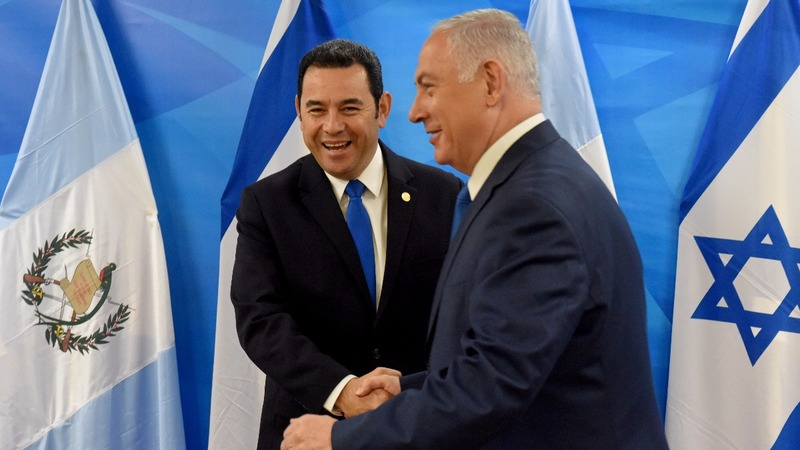 Guatemala follows U.S to open Jerusalem embassy