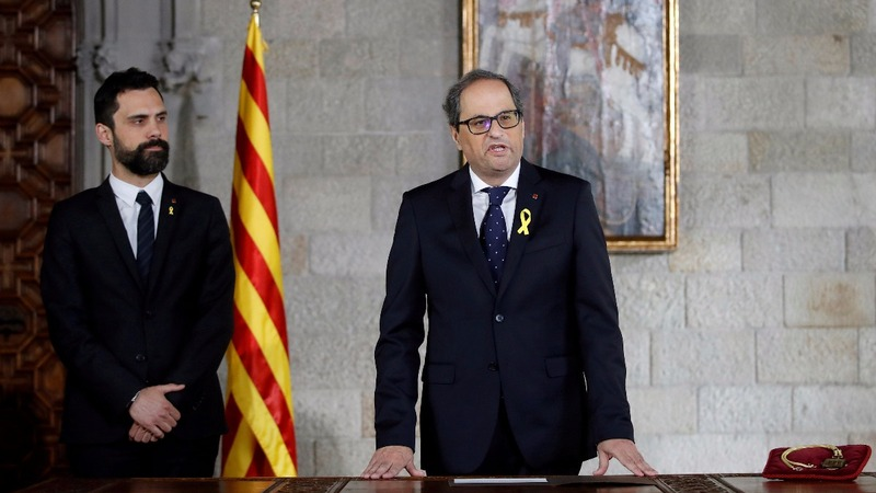 Catalonia finally gets a new president