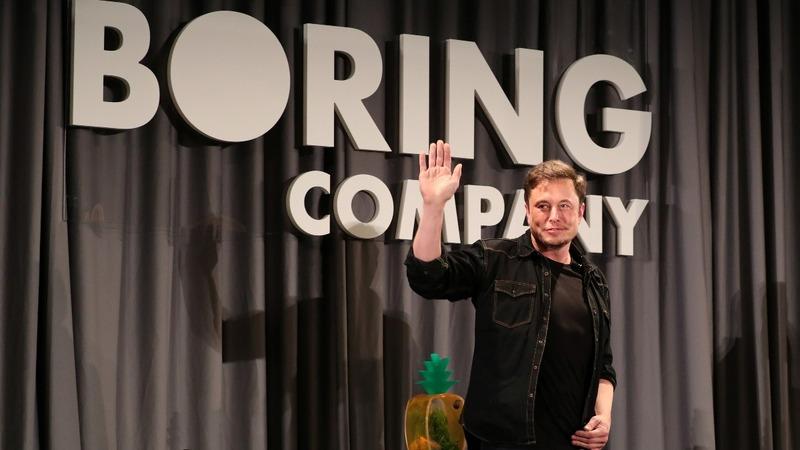 Elon Musk's 'Boring' plans for L.A. transport
