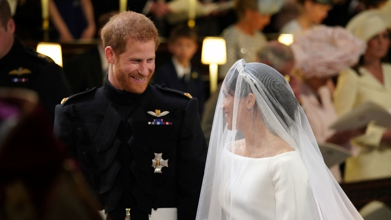 'You're husband and wife:' Harry and Meghan wed
