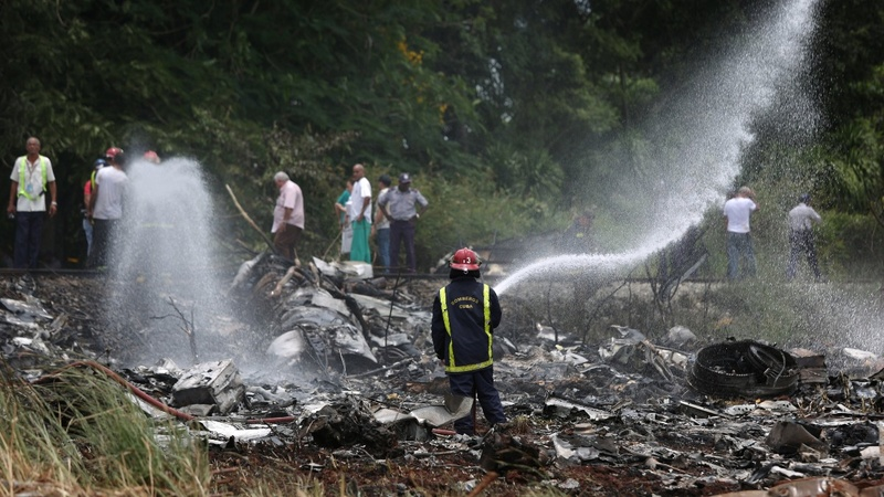 More than 100 killed in plane crash in Cuba: state TV