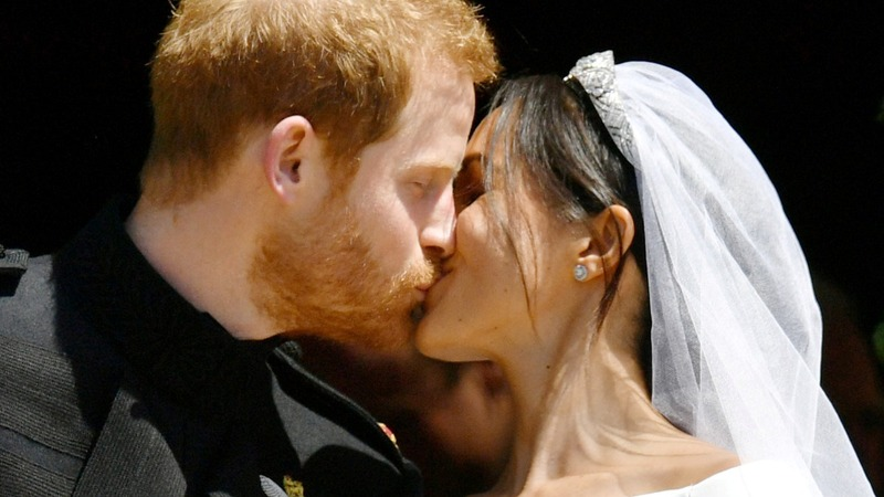 Royalty meets showbiz as Harry and Meghan wed
