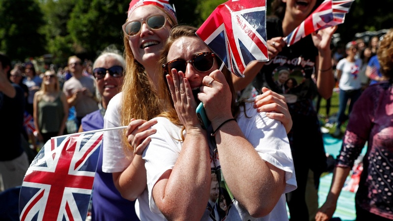 'Goosebumps!' Fans elated at royal wedding glitz