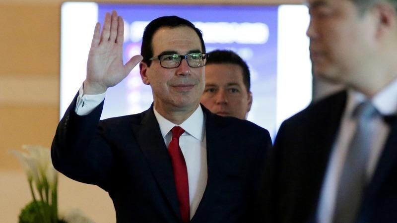 Mnuchin: U.S.-China trade war 'on hold'
