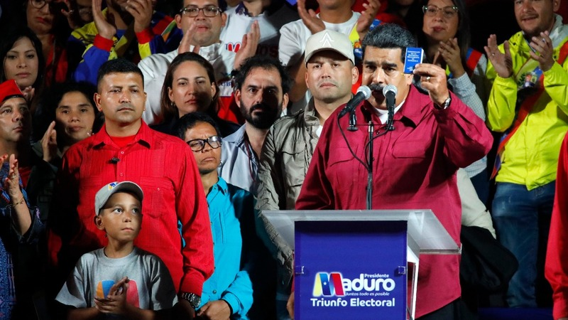 Maduro wins re-election amid outcry over vote