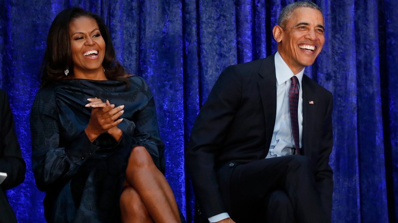Netflix inks production deal with the Obamas
