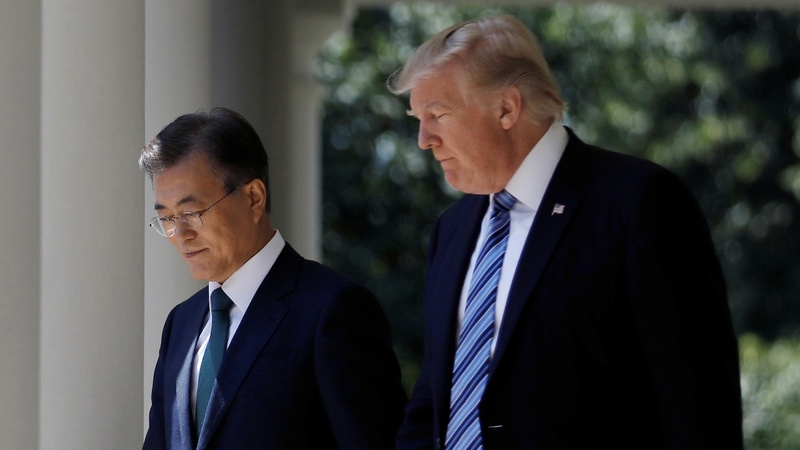 Trump to press Moon on Kim summit status