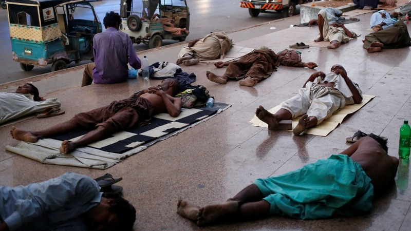 Pakistan heatwave kills 65 people in Karachi