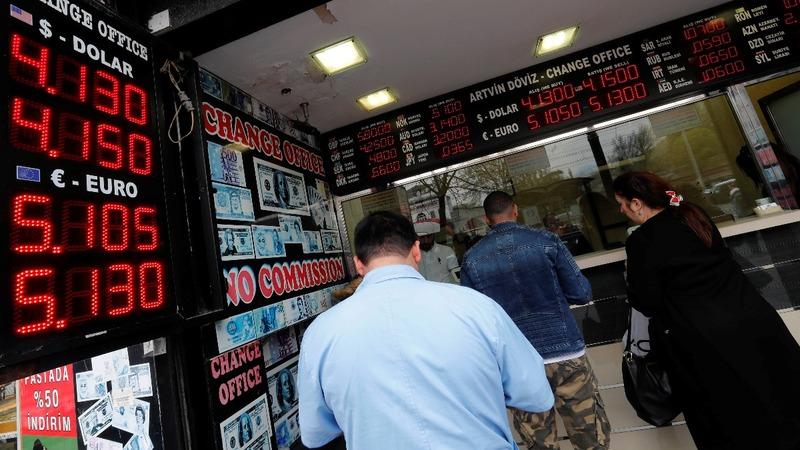 Erdogan's market fight sees Turkish lira tumble