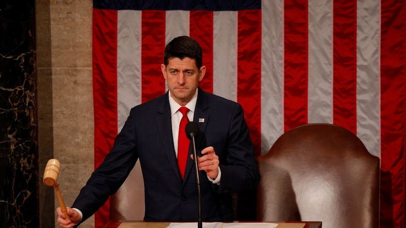 Ryan knocks reports he may give up gavel sooner