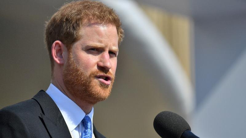 INSIGHT: Bee interrupts Prince Harry mid-speech