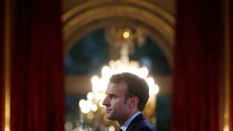 Europe's Trump woes loom as Macron visits Putin