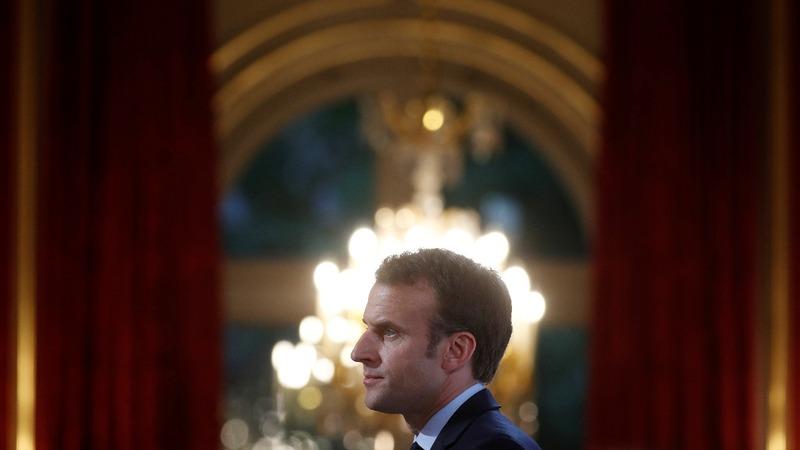 Europe's Trump woes loom as Macron visits Putin